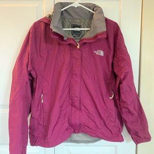 North Face Venture Rain Jacket Hood Purple M